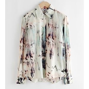 & Other Stories • Watercolor Shirt